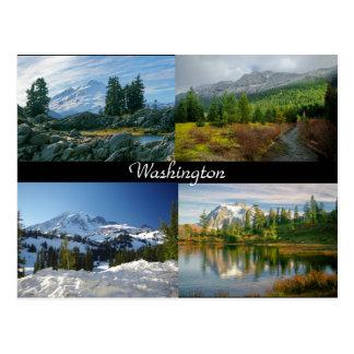 Montanhas do cartão de Washington