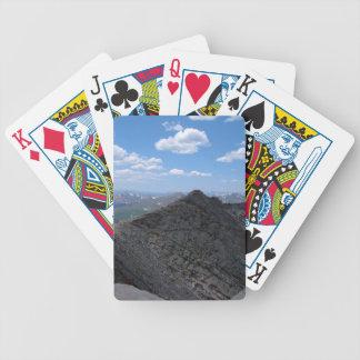 Montanhas rochosas Moonscape de Colorado Jogos De Baralhos