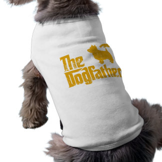 Montanhas Terrier branco ocidentais Camisa Sem Mangas Para Cachorro