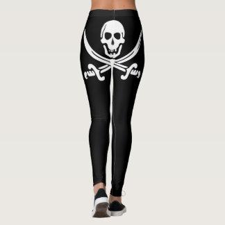 Montante do pirata leggings