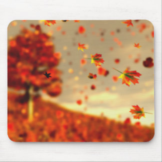 Monte a brisa Mousepad de outubro