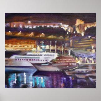 Monte - Carlo no papel de poster da noite