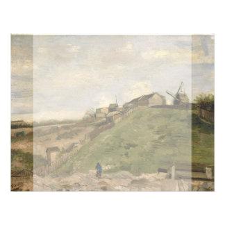 Monte de Montmartre com a pedreira de pedra por Va