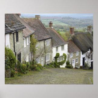 Monte do ouro, Shaftesbury, Dorset, Inglaterra, un Poster