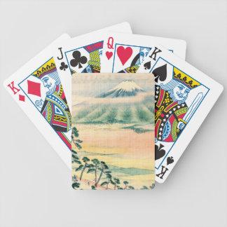 Monte Fuji 1890 Baralho Para Poker