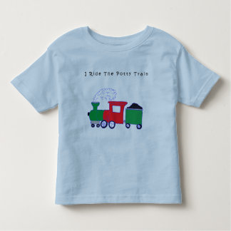 Monte o trem do Potty Camiseta Infantil