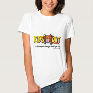 Monte para fora cómico t-shirts