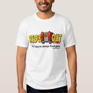 Monte para fora cómico tshirts