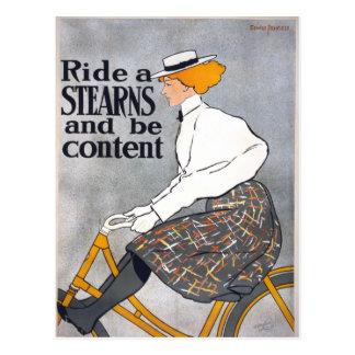 Monte um STEARNS & seja poster satisfeito da Cartão Postal