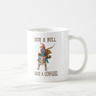 """""""Monte umas economias de Bull copo de café Caneca De Café"""