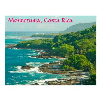 Montezuma, cartão de Costa Rica