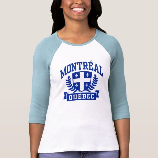Montreal Quebeque Camiseta