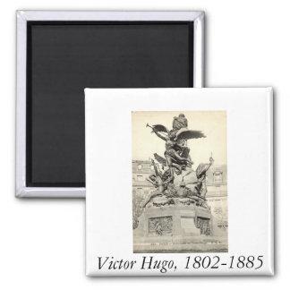 Monumento ao vintage de Victor Hugo Paris France Imãs