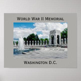 Monumento da segunda guerra mundial -- impressão