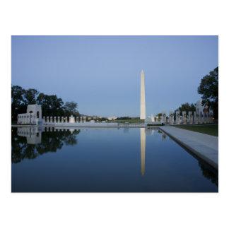 Monumento de George Washington Cartão Postal