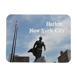 Monumento do Jr. de Adam Clayton Powell em Harlem Ímã