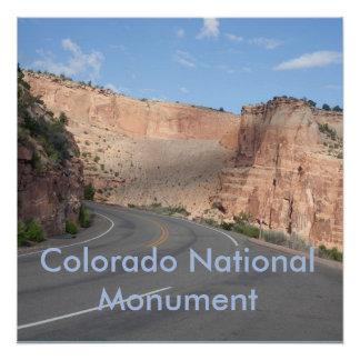 Monumento nacional de Colorado Poster Perfeito
