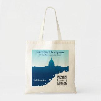 Monumento nacional do modelo do saco bolsas para compras