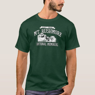 Monumento nacional do Monte Rushmore Memorial Park Camiseta