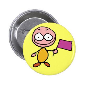 """Moodbutton """"feliz"""" - personalizado bóton redondo 5.08cm"""