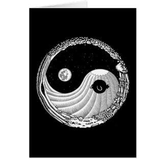 Moonbird Yang Cartão Comemorativo