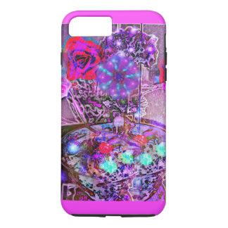 Moonflowers cintilante capa iPhone 7 plus