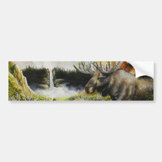 Moose~ uma pintura em produtos customizáveis adesivo para carro
