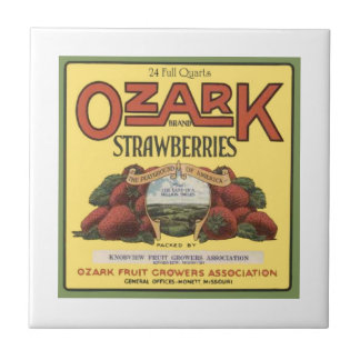 Morangos de Ozark