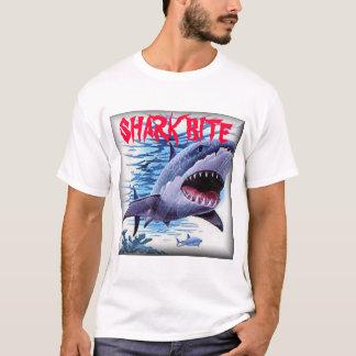 Mordida do tubarão camiseta