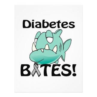 MORDIDAS do diabetes Modelo De Panfleto