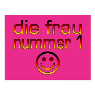 Morre a Senhora Nummer 1 - esposa do número 1 no a Cartões Postais