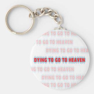 Morte a ir ao chaveiro do céu