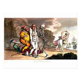 Morte e o cartão do circo