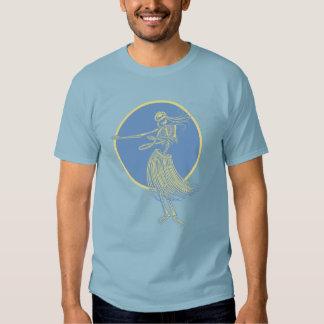 Morte Luau de Hula Tshirt