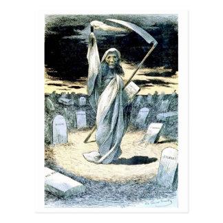 Morte que ilumina o cartão de Tonkin