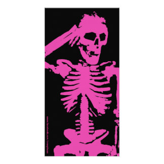 Morto lindo cartão com foto