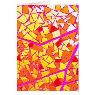 Mosaic Cartão Comemorativo