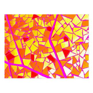 Mosaic Cartão Postal