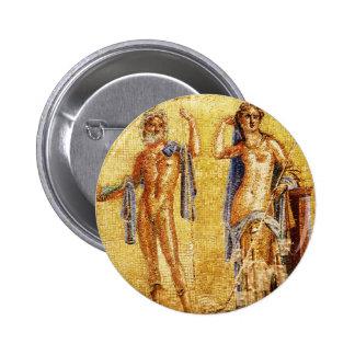 Mosaico BONITO de Pompeii Bóton Redondo 5.08cm