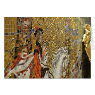 Mosaico Cartão Comemorativo