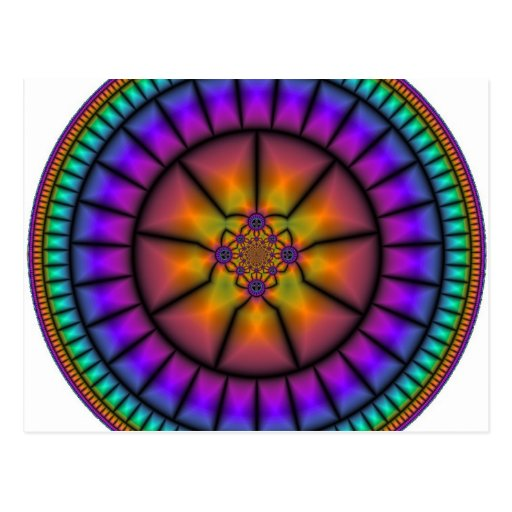 Mosaico da esfera celestial cartoes postais