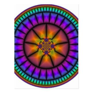 Mosaico da esfera celestial cartão postal