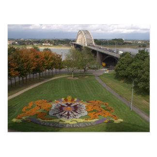 Mosaico da flor, Nijmegen Cartão Postal