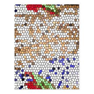 Mosaico de Bizantine Cartão Postal