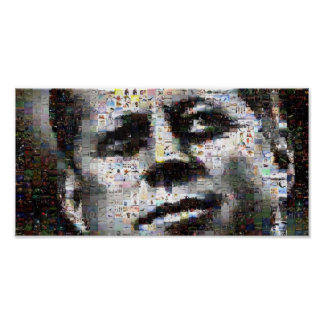 Mosaico de Kennedy Pôster