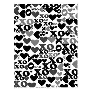 Mosaico de XO Cartão Postal