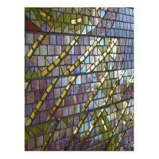 Mosaico do arco-íris cartão postal