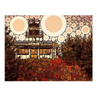 Mosaico do farol cartão postal