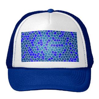 mosaico do tipo do padrão boné