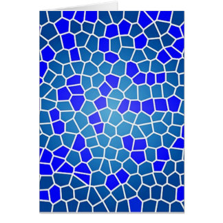 mosaico do tipo do padrão cartão comemorativo